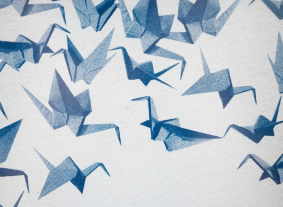 Origami painting