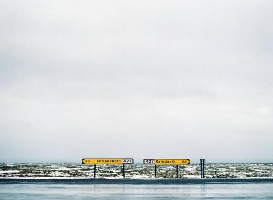 Icelandic road signs