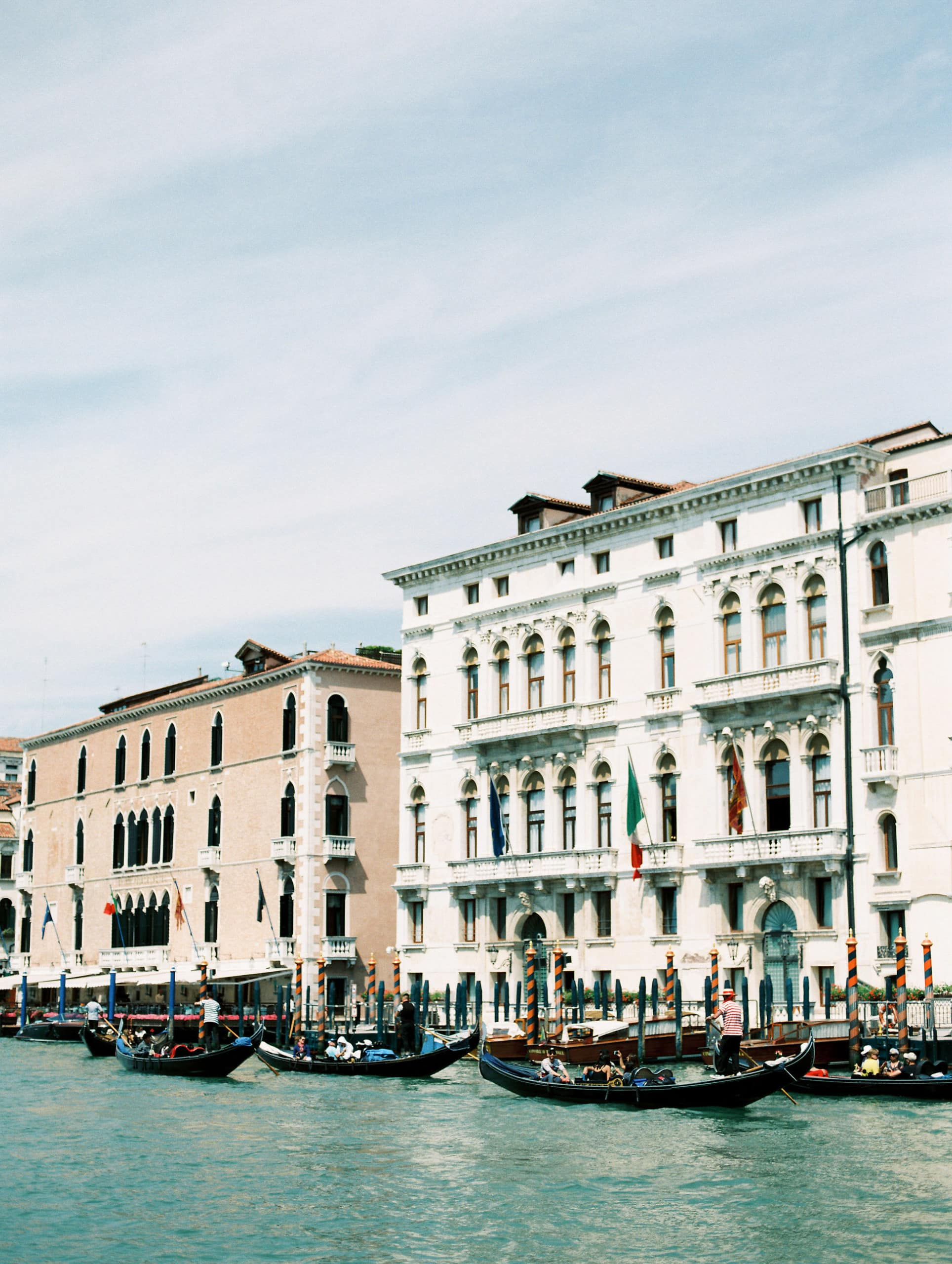 Grand canal venice styled stock photography