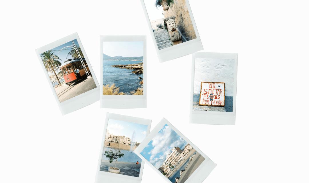 Mallorca on film stock images
