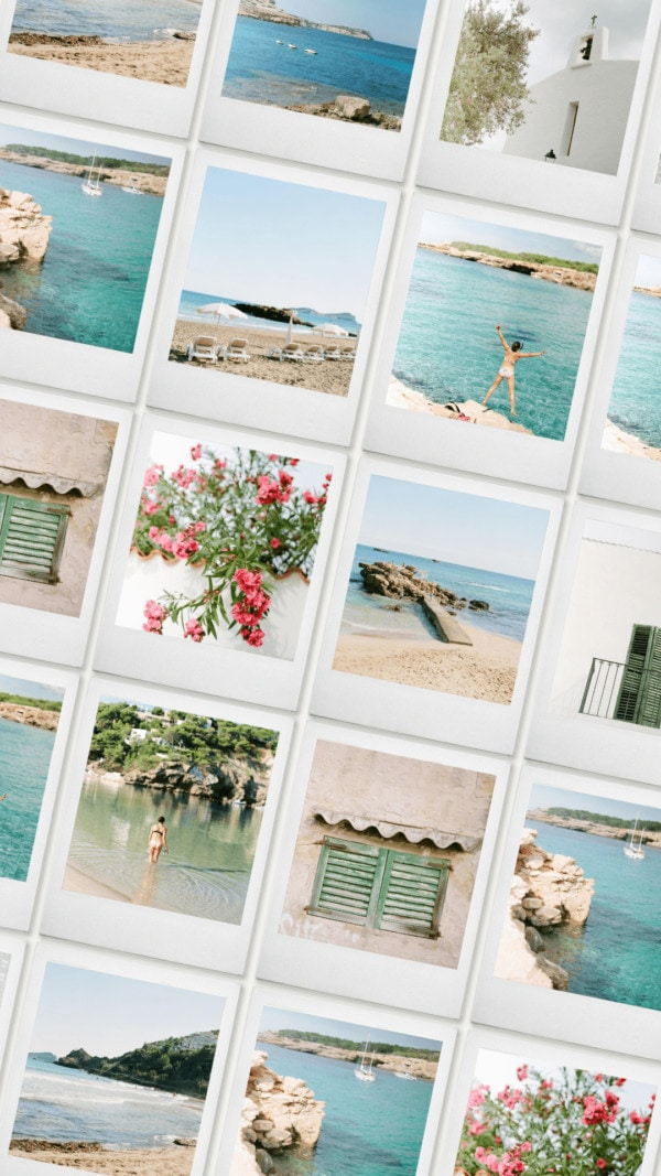 Ibiza stock photography collection