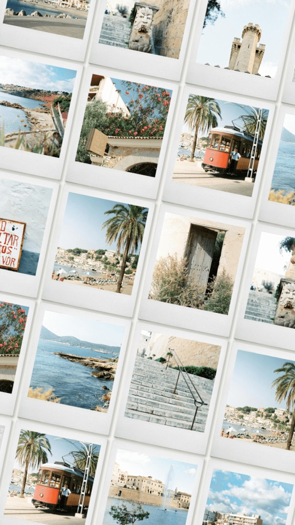 Mallorca on Film stock images collection