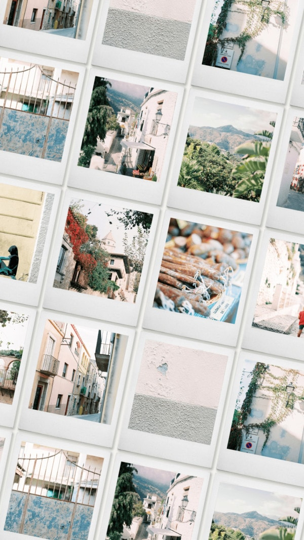 Spanish film stock photography
