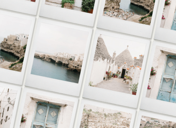 Puglia film stock image collection