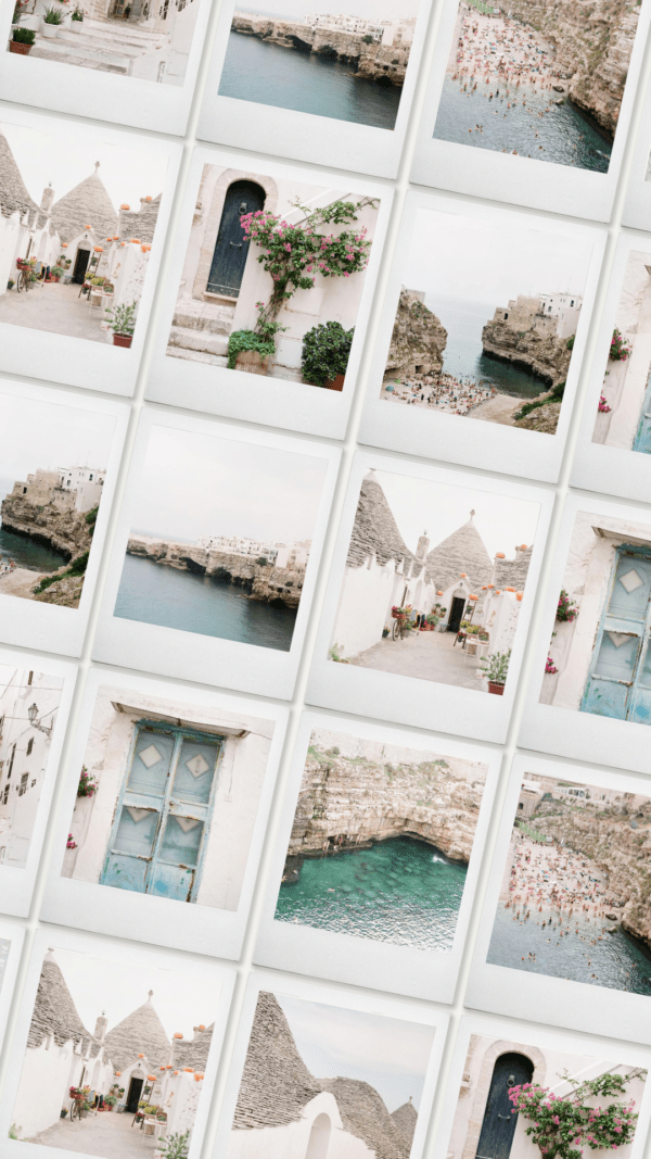 Puglia film stock image collection