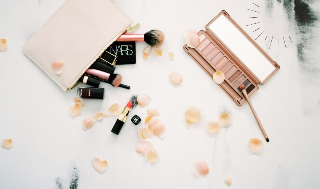 pink make up stock photography