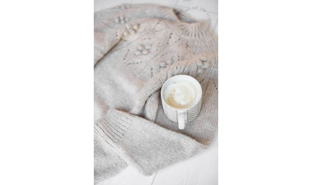 coffee and cosy jumper