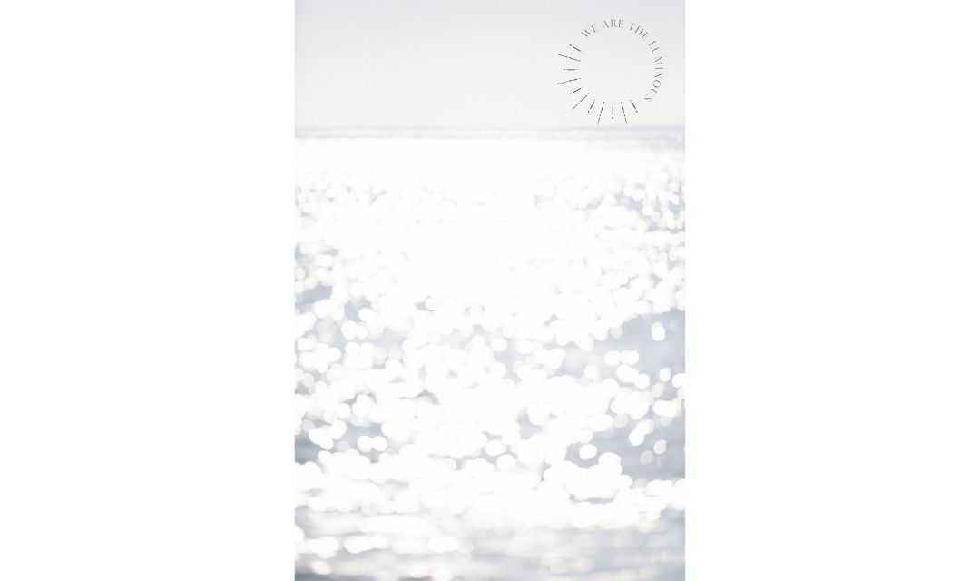 Sparkling ocean stock photo