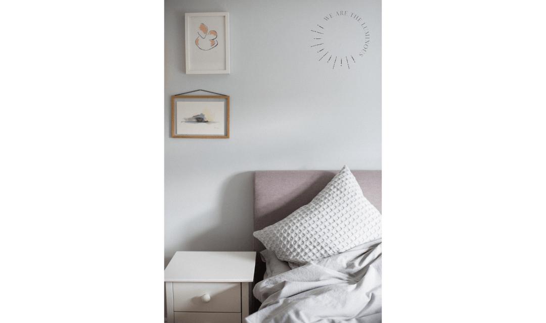 luxury bedding stock image
