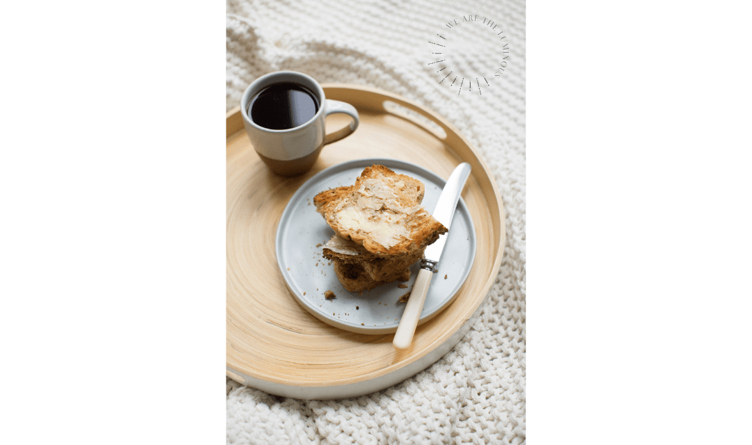 coffee and toast style stock imagery