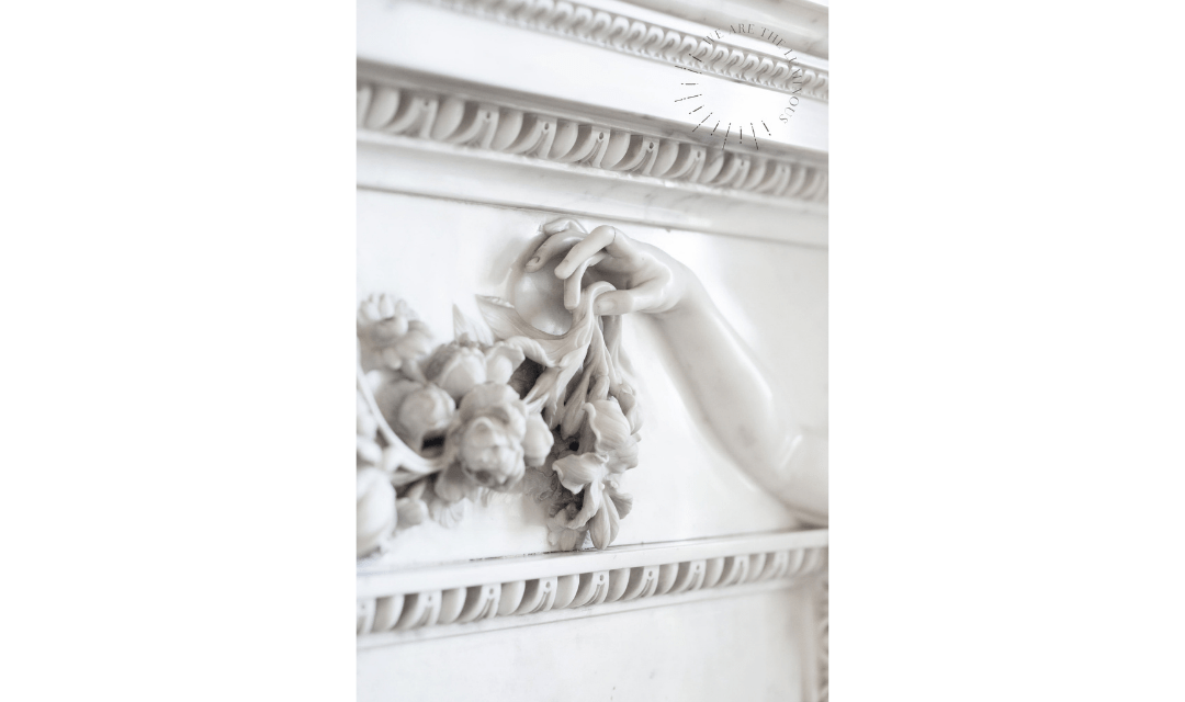 white marble statue image