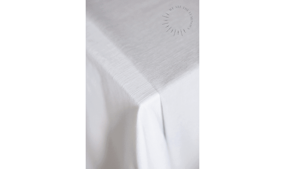 fabric draped over table stock photo