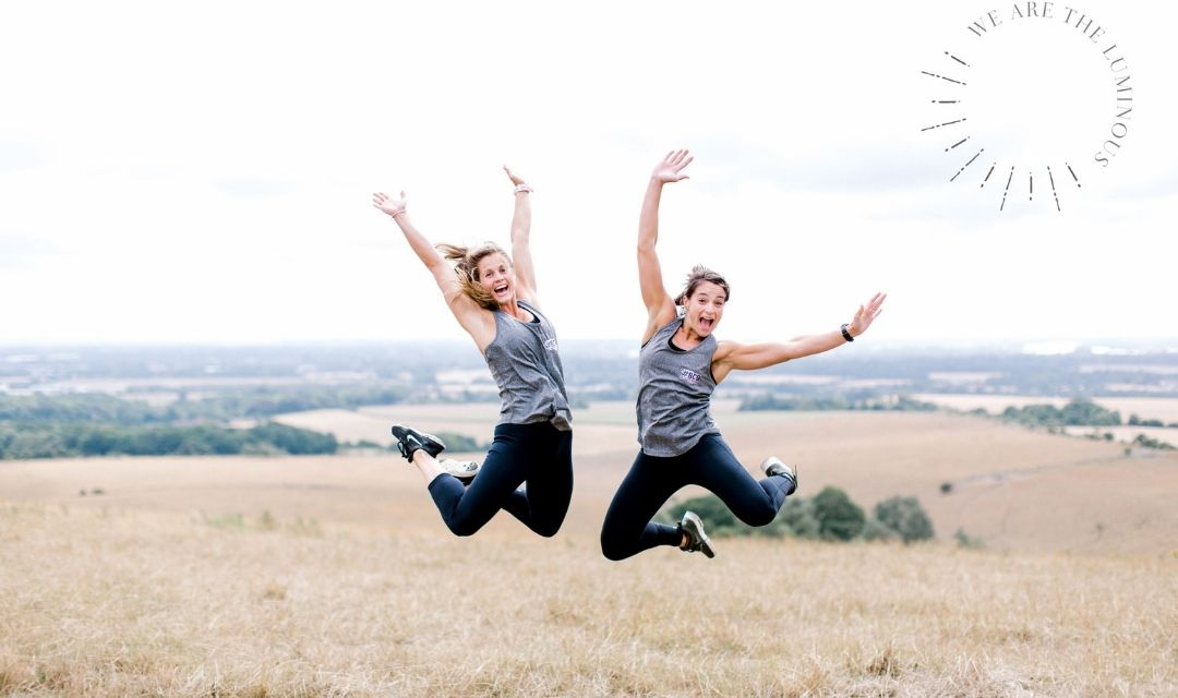 women exercising stock photography