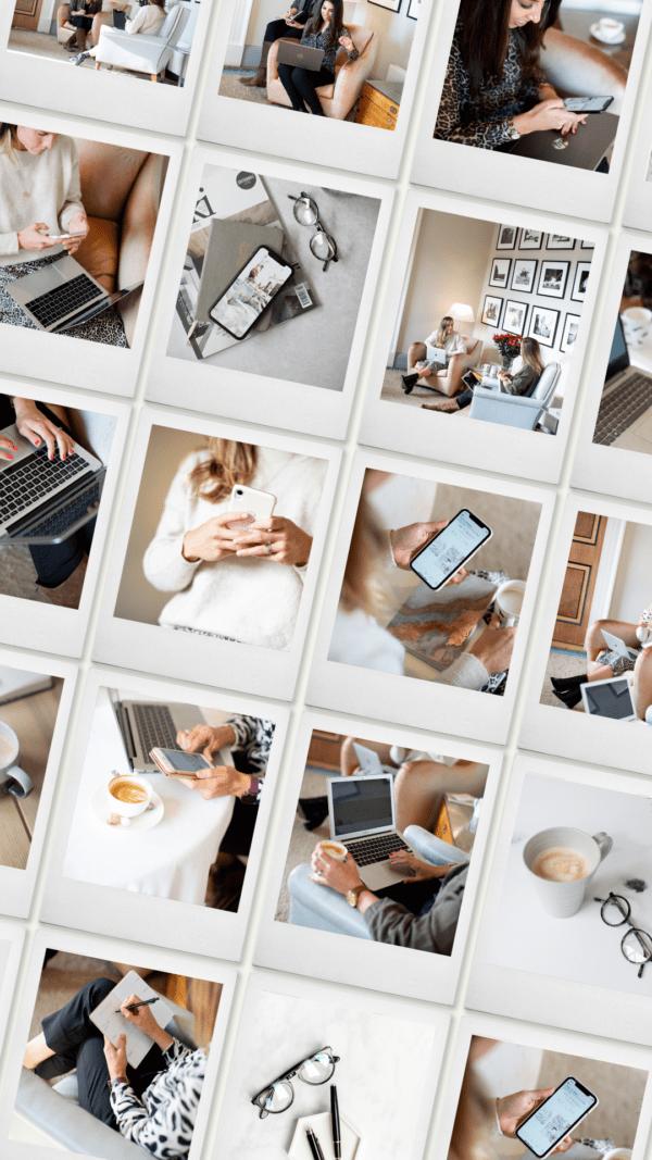 women in business stock photos