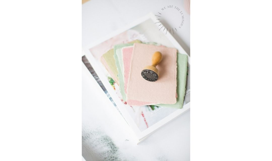 pastel note paper