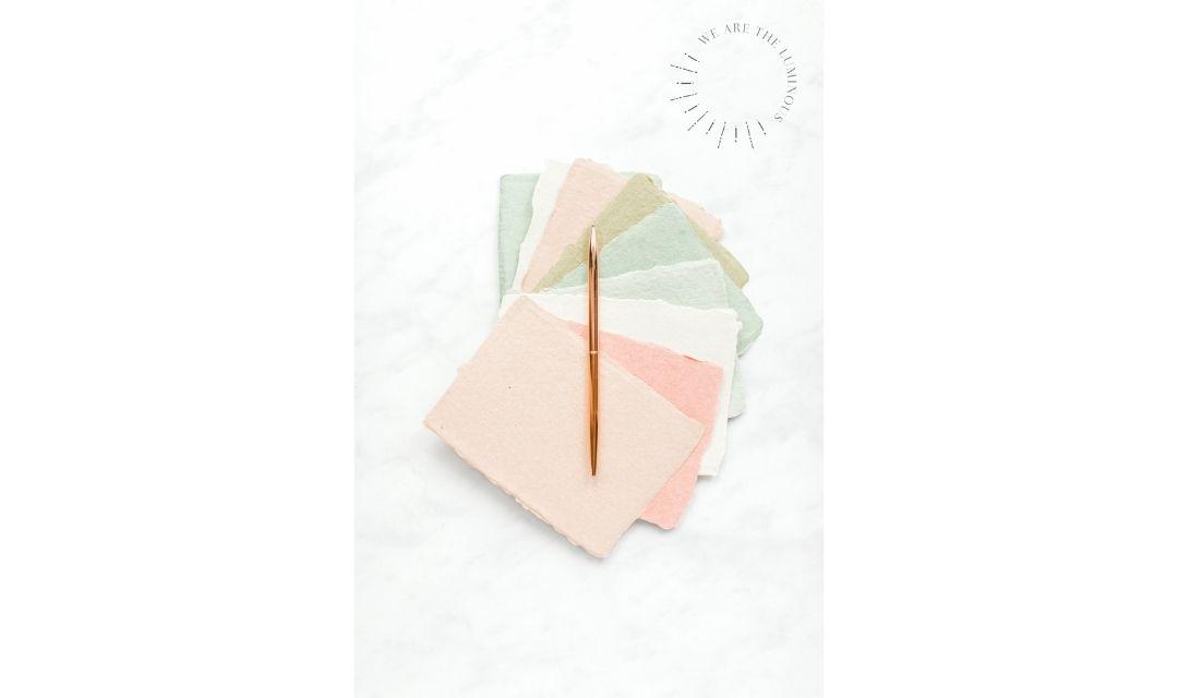 pastel paper stock photo