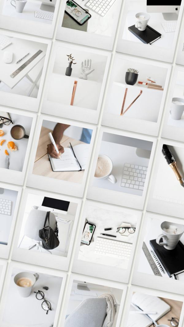 monochrome office stock photos
