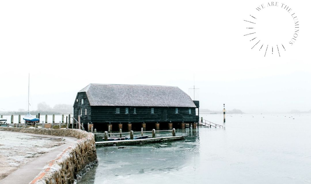 cold day at a jetty