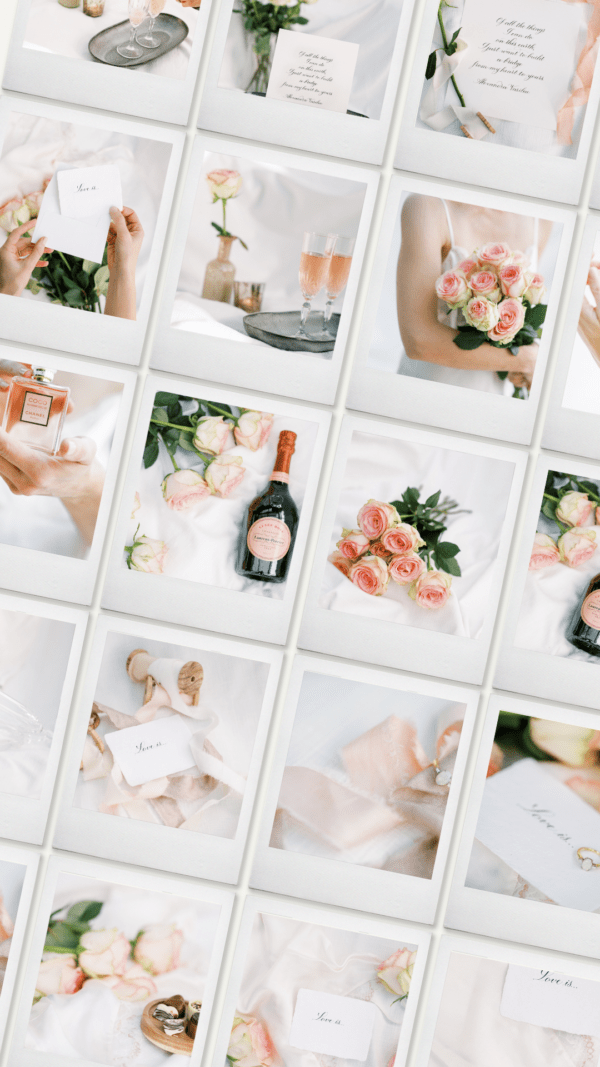 Valentine's Day styled stock photography
