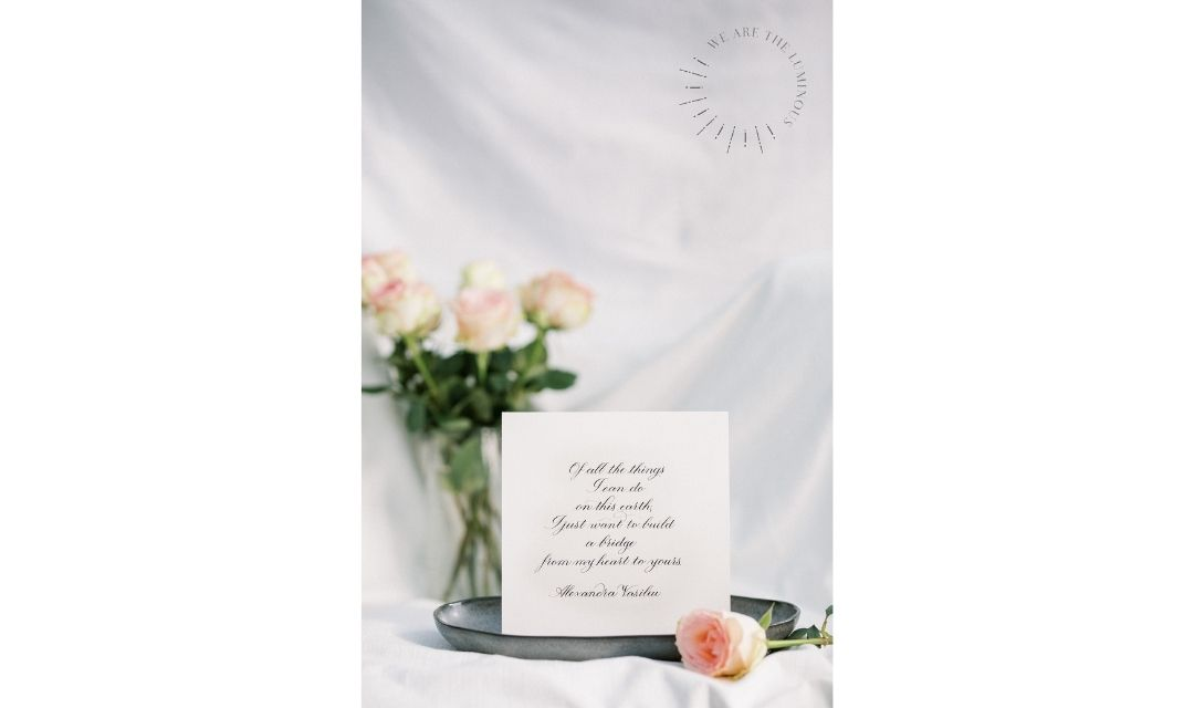 love letter with roses