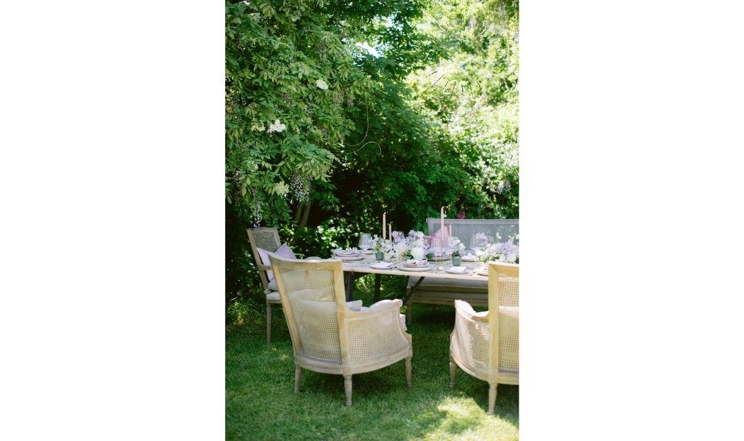 rattan wedding chairs
